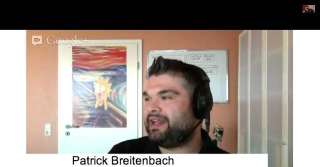 Session-Vorschlag von Patrick Breitenbach