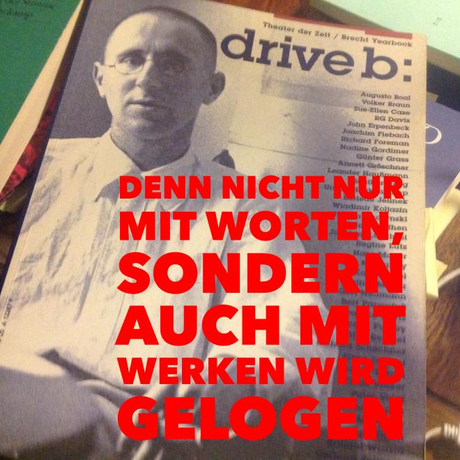 Brecht's Gracian-Lektüre