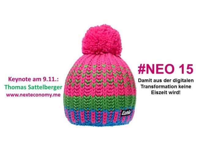 Auf zur #NEO15 am 9. und 10. November in Bonn.